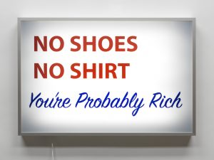Alejandro Diaz, No Shirt, No Shoes, You're Probably Rich