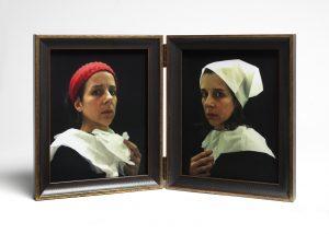 Nina Katchadourian, Portraits in the Flemish Style