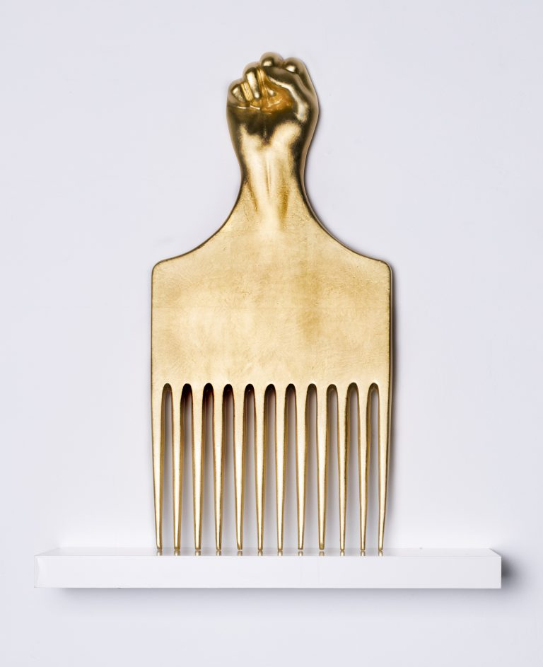 Carlos Rolon/Dzine, Study for We the People (AfroComb)