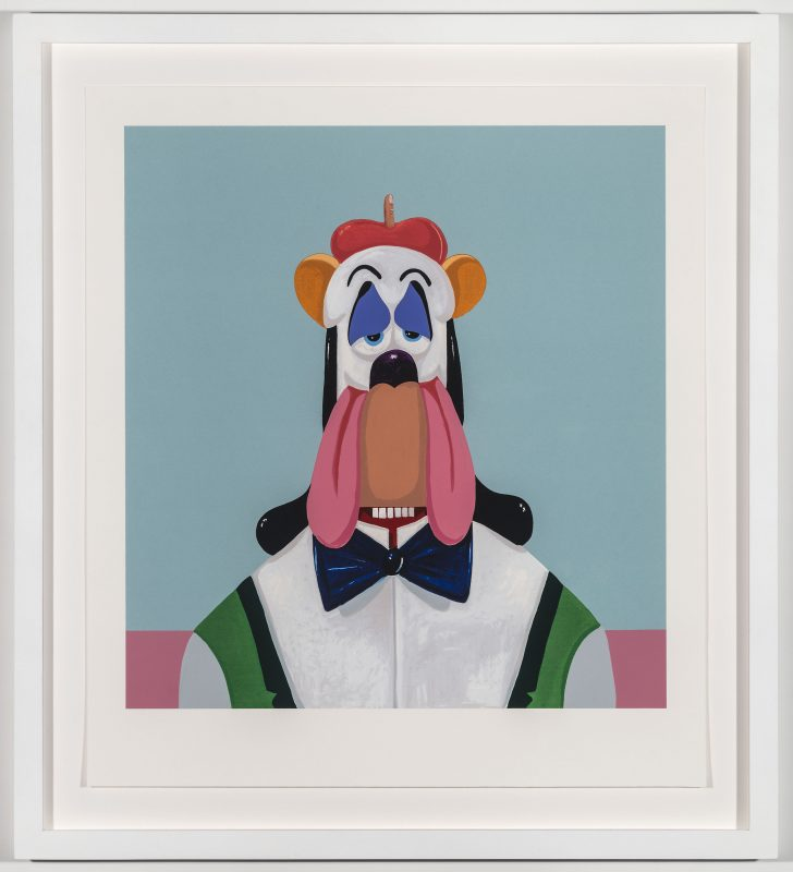 George Condo, Droopy Dog Abstraction