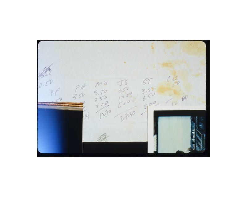 Moyra Davey, Colin's Math